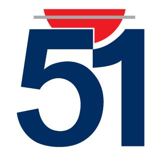 Logo de la marque 51 for Verre 51 piscine design tabac