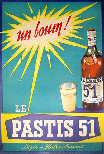 Campagne Pastis 51 1951