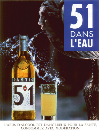 Campagne Pastis 51 1991