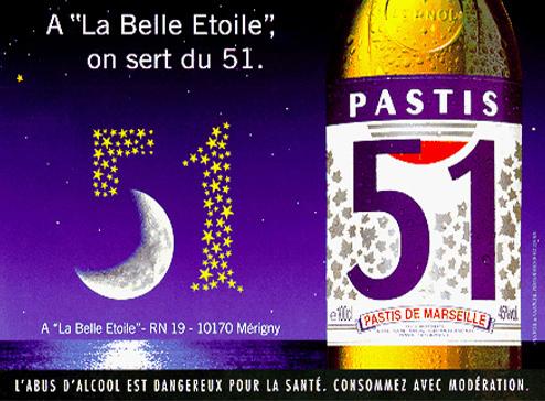 Campagne Pastis 51 1995