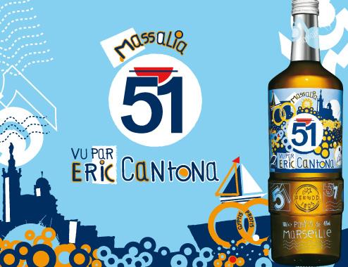 Campagne Pastis 51 Edition Cantona