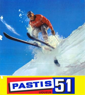 Campagne Pastis 51 années 60's