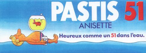 Campagne Pastis 51 années 70's