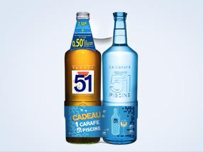 carafe 51 : la promotion de l'été
