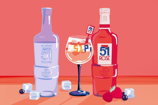 Découvrez les 51 façons de réaliser un 51 rosé