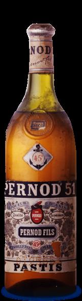 Bouteille Pastis 51 1951