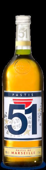 Bouteille Pastis 51 2007
