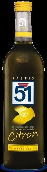 Bouteille Pastis 51 Edition Citron 2005